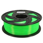 CloneBox Filament PLA d'imprimante 3D 1.75mm Préc. +/-0.05mm 1kg Vert Trans