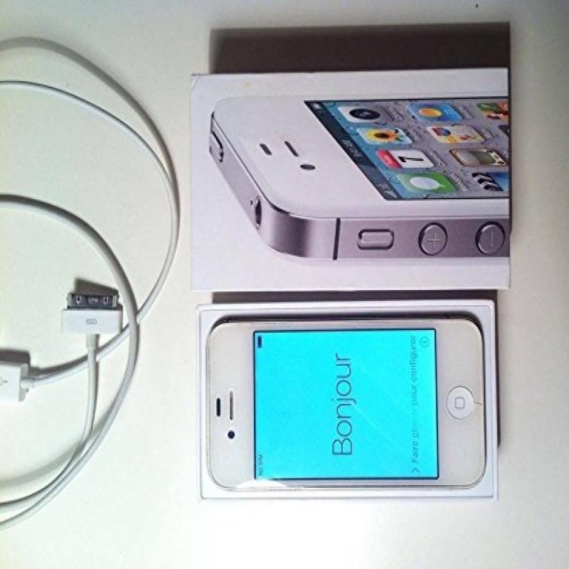 Apple iPhone 4S Unlocked Cellphone, 16GB, White
