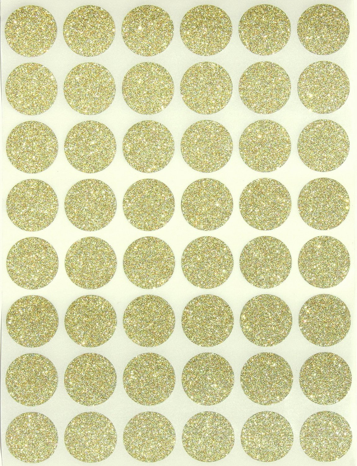 Glitter dot stickers 3 4 round 17 mm color coding labels 0 69 inch