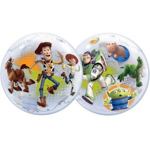 Toy Story 3 Bubble Balloon Multi-Colored