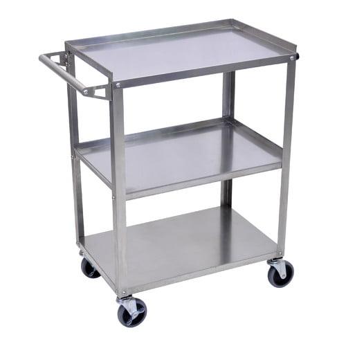Luxor 3 Shelf Utility Cart