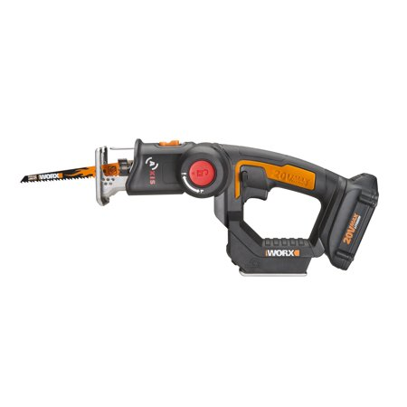 Worx wx550l 20v axis 2 in 1 reciprocating saw and jigsaw with worx wx550l 20v axis 2 in 1 reciprocating saw and jigsaw with orbital mode greentooth Image collections