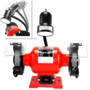"""8"""" 3/4 Hp Electric Bench Grinder With Light Power Tools"""