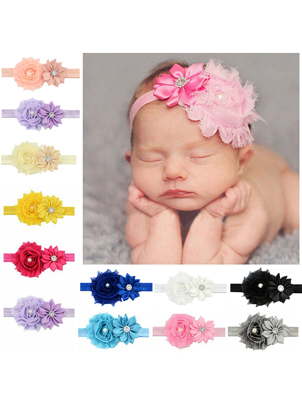 Headband for Baby Girl, Coxeer Cute 12 Pieces