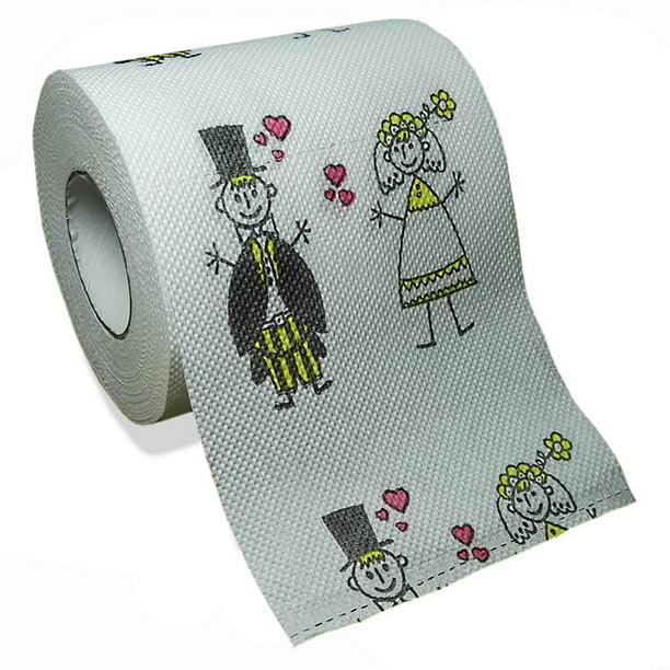 Novelty Gag Funny Prank Toilet Paper Roll 3 Ply Joke Tissue Paper