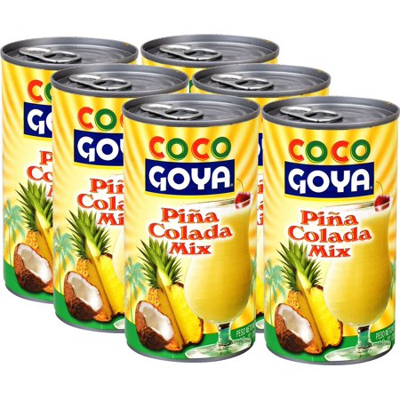 Pina Colada Mix by Goya, 12 fl oz (Pack of - Strawberry Pina Colada