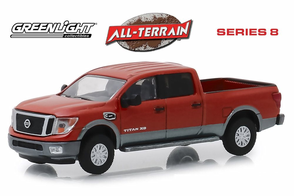 A.S.S NEU GreenLight 1//64 Nissan Titan XD 2018 All-Terrain series 2019
