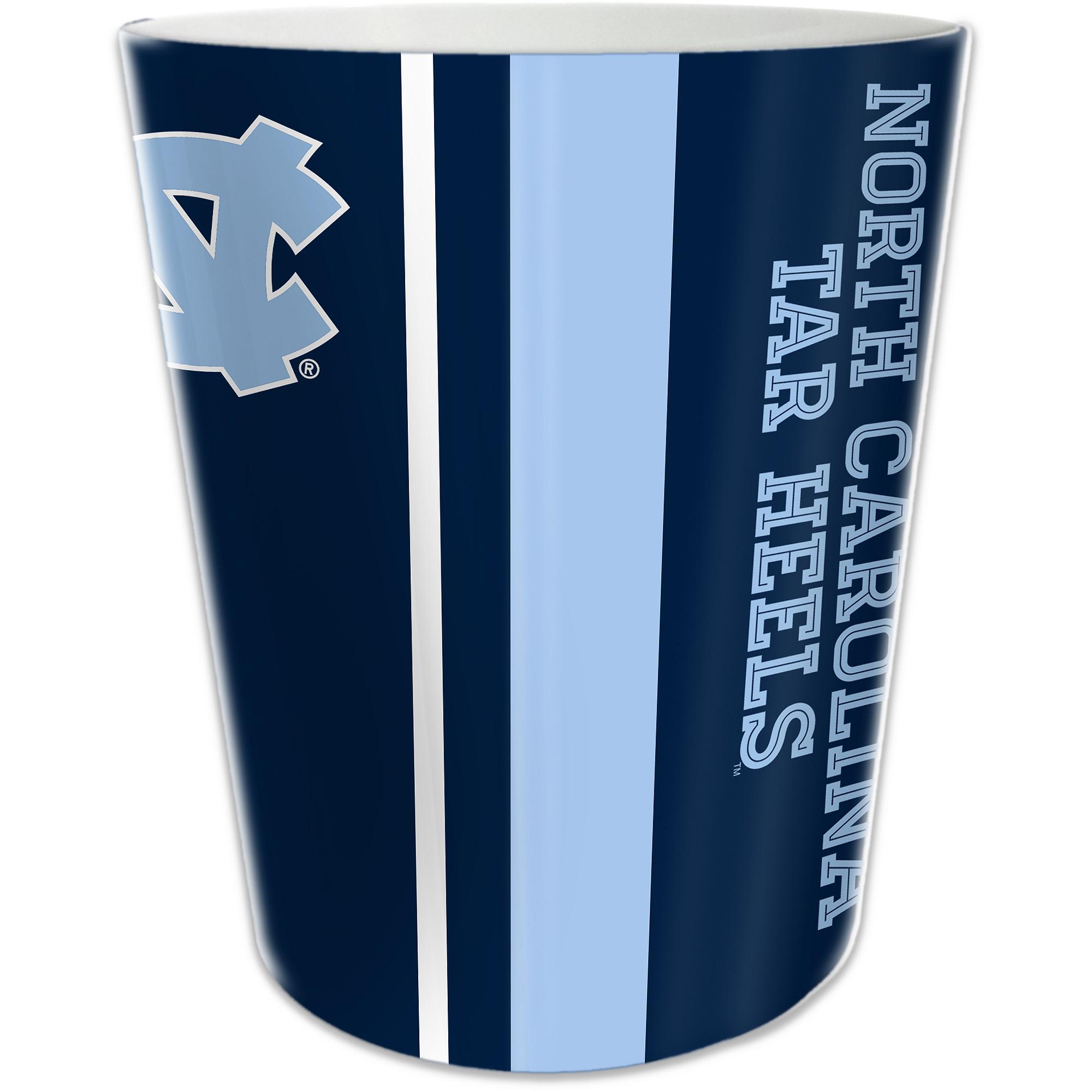 NCAA University of North Carolina Decorative Bath Collection - Wastecan