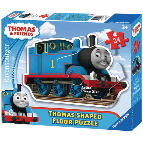 Ravensburger Thomas and Friends: Thomas the Tank Engine Shaped Floor Puzzle, 24 Pieces