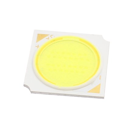 DC 45-50V 15W 19mmx19mm Square COB  Chip High Power Beads Light Pure White ()