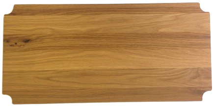 "14"" Deep x 54"" Wide White Oak Butcher Block by Omega Products Corp."