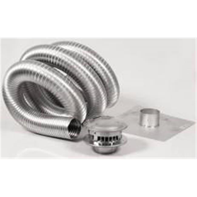 Selkirk-metalbestos 503805 4 in. x 35 ft. Gas Vent Type B Chimney Kit