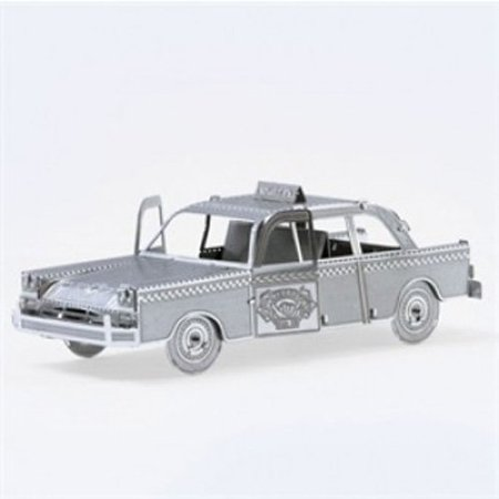 Fascinations Metal Earth Checker Cab 3D Metal Model Kit (Standard Cab Models)