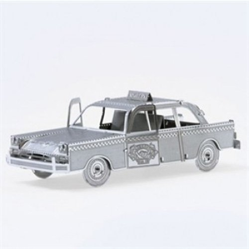 Fascinations Metal Earth Checker Cab 3D Metal Model Kit