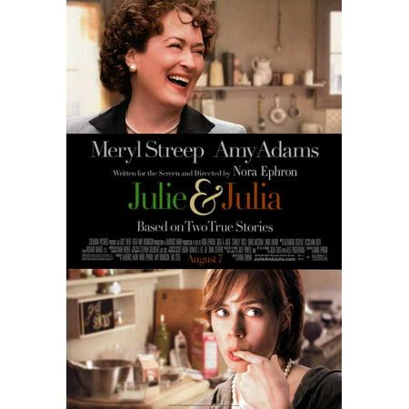 Julie and Julia (2009) 27x40 Movie Poster - Julie Ann Art Halloween Costumes
