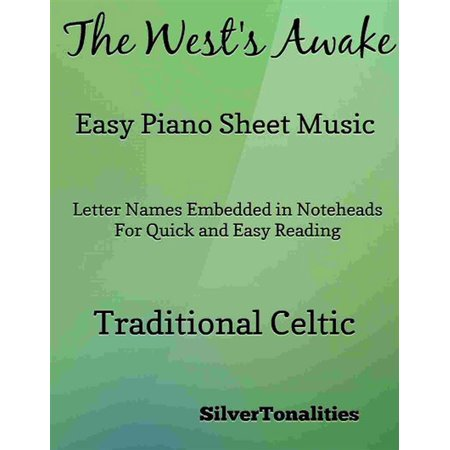 The West's Awake Easy Piano Sheet Music Pdf - eBook - This Is Halloween Sheet Music Pdf