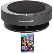 BeyerDynamic 710830 PHONUM Wireless Bluetooth Speakerphone Bundle with Tech Smart USA Audio Entertainment Essentials Bundle 2020