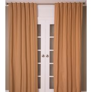 Room with a View Cotton Linen Blend Solid Color Curtain Panel
