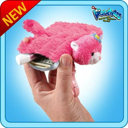 As Seen On TV Pillow Pets Poucheez Flower Power Cat Toy Gift (Flower Power Cat Pillow Pet)
