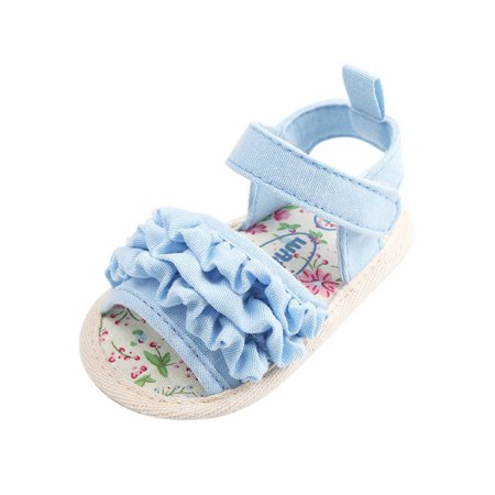 Lavaport Cute Baby Girl Princess Sandals Beach Wear (Best Shoes To Wear On The Beach)