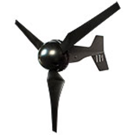 - MidNite Solar MNCHINOOK200-12M Direct Drive Micro Marine Wind Turbine With MNCDL