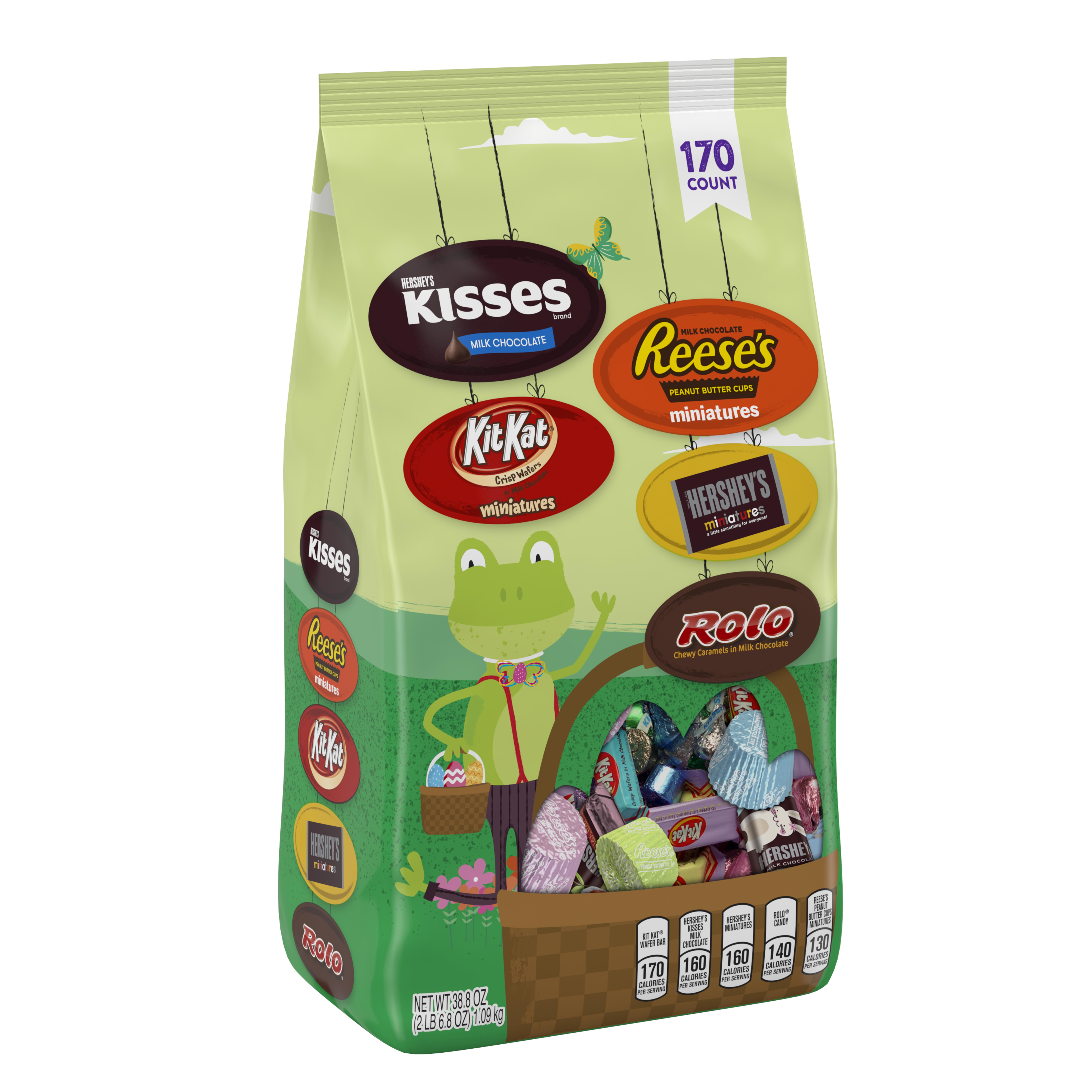 Hershey's, Easter Egg Hunt Candy Assortment, 170 Ct