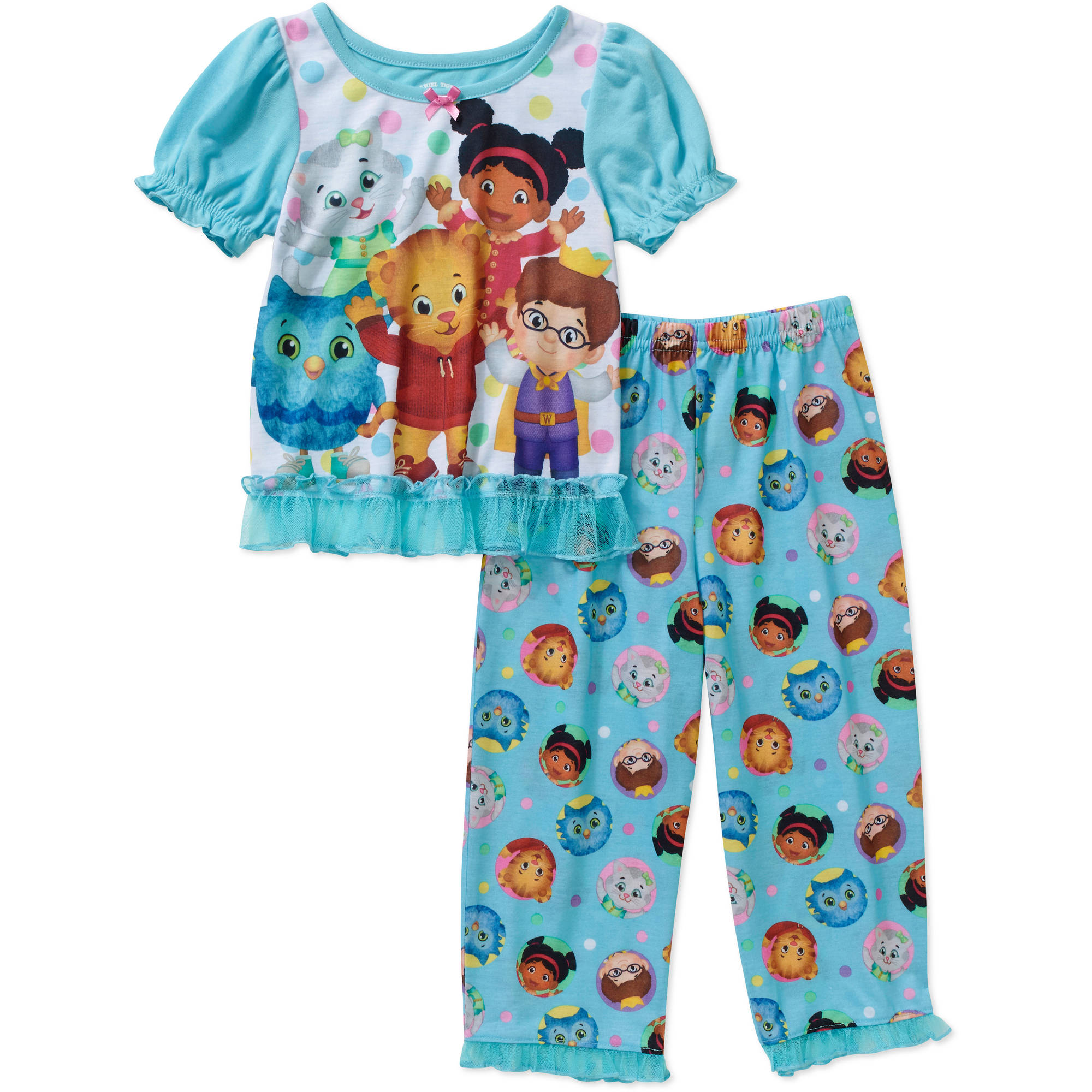 Daniel Tiger Toddler Girl Short Sleeve Pajama Set