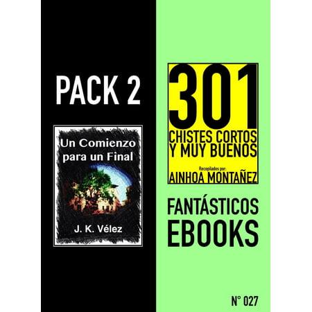Pack 2 Fantásticos ebooks, nº27. Un Comienzo para un Final & 301 Chistes Cortos y Muy Buenos - eBook - Un Disfraz Original Para Halloween