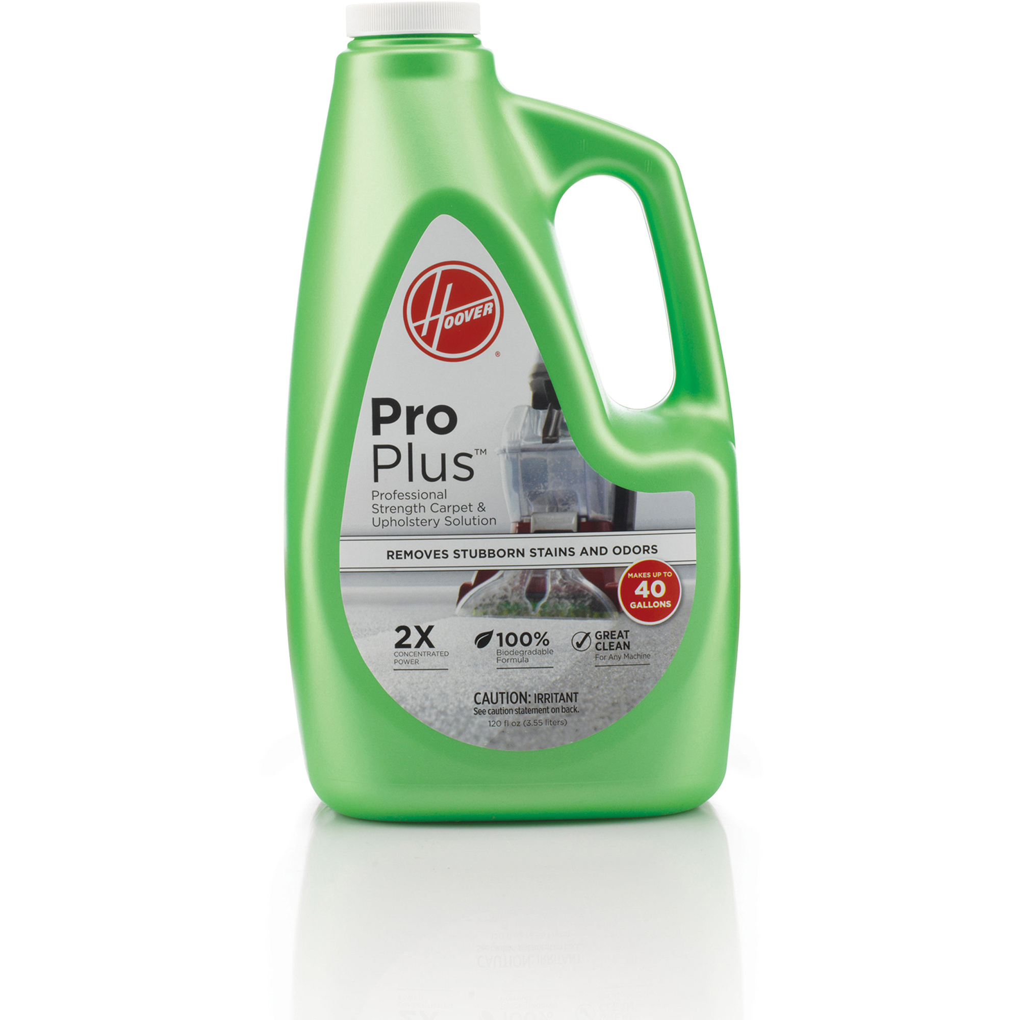 Hoover 2X ProPlus Professional Strength Carpet Cleaner & Upholstery Solution 120 oz, AH30051