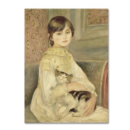 Trademark Fine Art 'Julie Manet' Canvas Art by Renoir - Julie Ann Art Halloween Costumes
