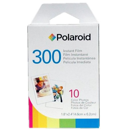 Polaroid PIF300 Instant Film Replacement - Designed for use with Fujifilm Instax Mini and PIC 300 Cameras (10 Sheets) ()
