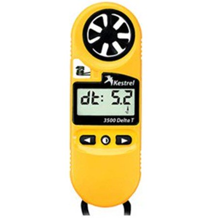 Kestrel 3500DT Pocket Weather Meter Yellow