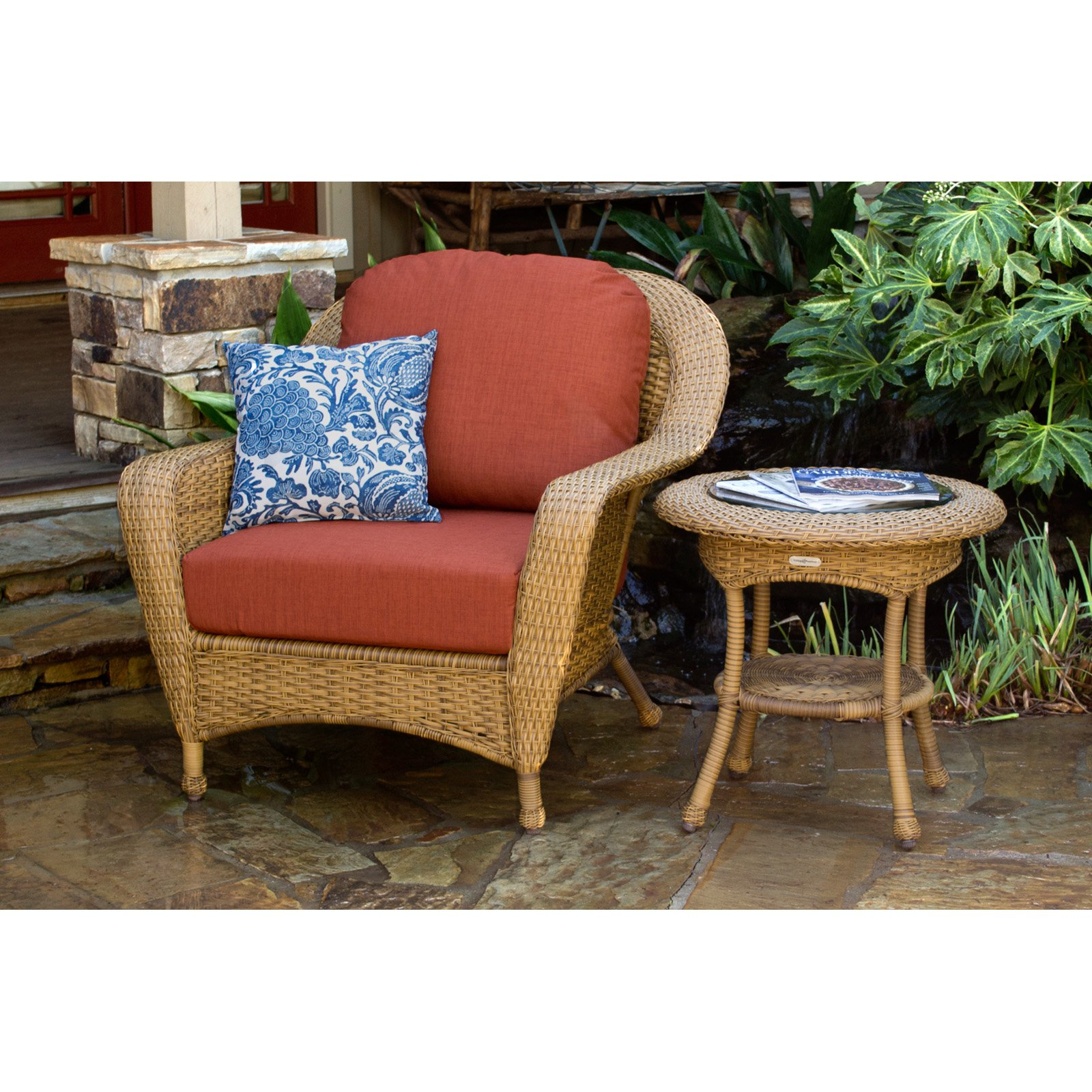 Tortuga Sea Pines 2 pc. Chair with Side Table Set