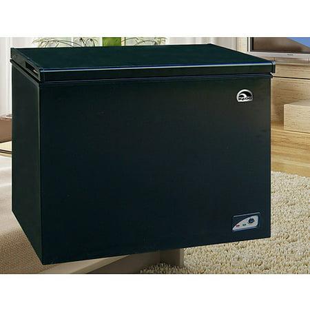 igloo 7 1 cu ft chest freezer black. Black Bedroom Furniture Sets. Home Design Ideas