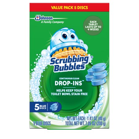(2 Pack) Scrubbing Bubbles Bathroom Grime Fighter Spray, Citrus, 32 Ounces