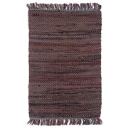 Bungalow Rose Rigoberto Cotton Tobacco Area Rug