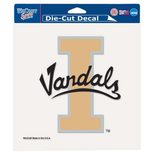 "NCAA University of Idaho Perfect Cut Color Decal, 8"" x 8"""