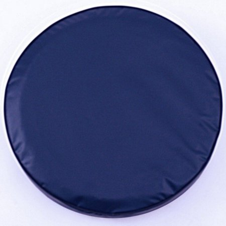 Navy Tire Cover - Tire Cover by Holland Bar Stool - Plain Navy Blue, 28.50'' x 8''