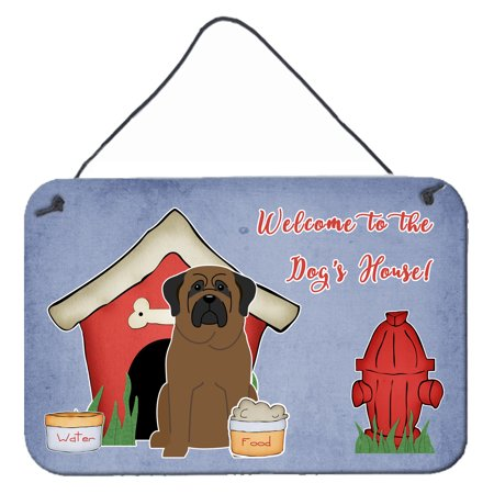 Dog House Collection Bullmastiff Wall or Door Hanging Prints BB2838DS812