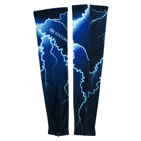 XINTOWN Authorized Outdoor Exercise Sun Protection Cover Leg Sleeve #4 L Pair - image 5 de 5