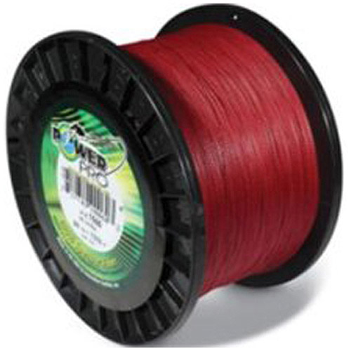 PowerPro Braided Fishing Line, Red, 1,500 yd