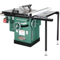 """Grizzly Industrial G1023RLWX 10"""" 5 HP 240V Cabinet Table Saw with Built-in Router Table"""