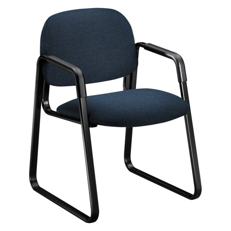 HON Solutions 4000 Series Seating Sled Base Guest Chair, Blue