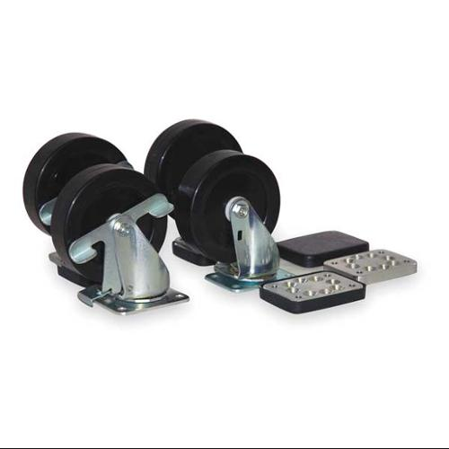 KENNEDY 50081 Mobility Kit, (4) 5 In Casters & Hardware