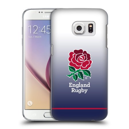 - OFFICIAL ENGLAND RUGBY UNION 2017/18 KIT HARD BACK CASE FOR SAMSUNG PHONES 1