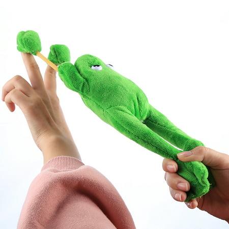 Slingshot Flingshot Flying Screaming Frog Plush Toy - Frog Toys