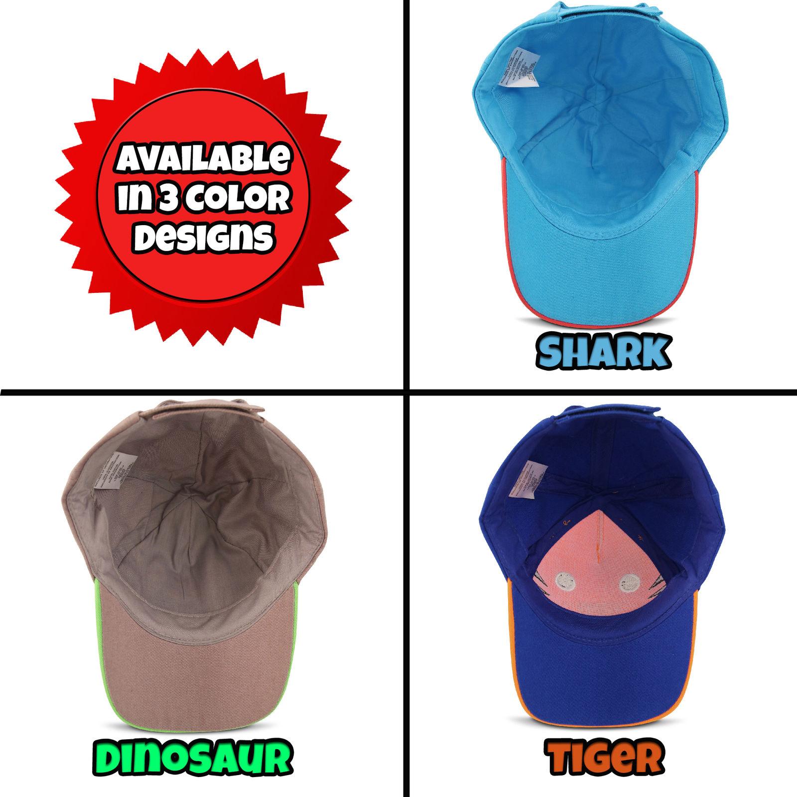 5ad2d78d ABG Accessories - ABG Accessories Toddler Boys Cotton Baseball Cap,  Assorted Critter Designs, Age 2-4 - Walmart.com