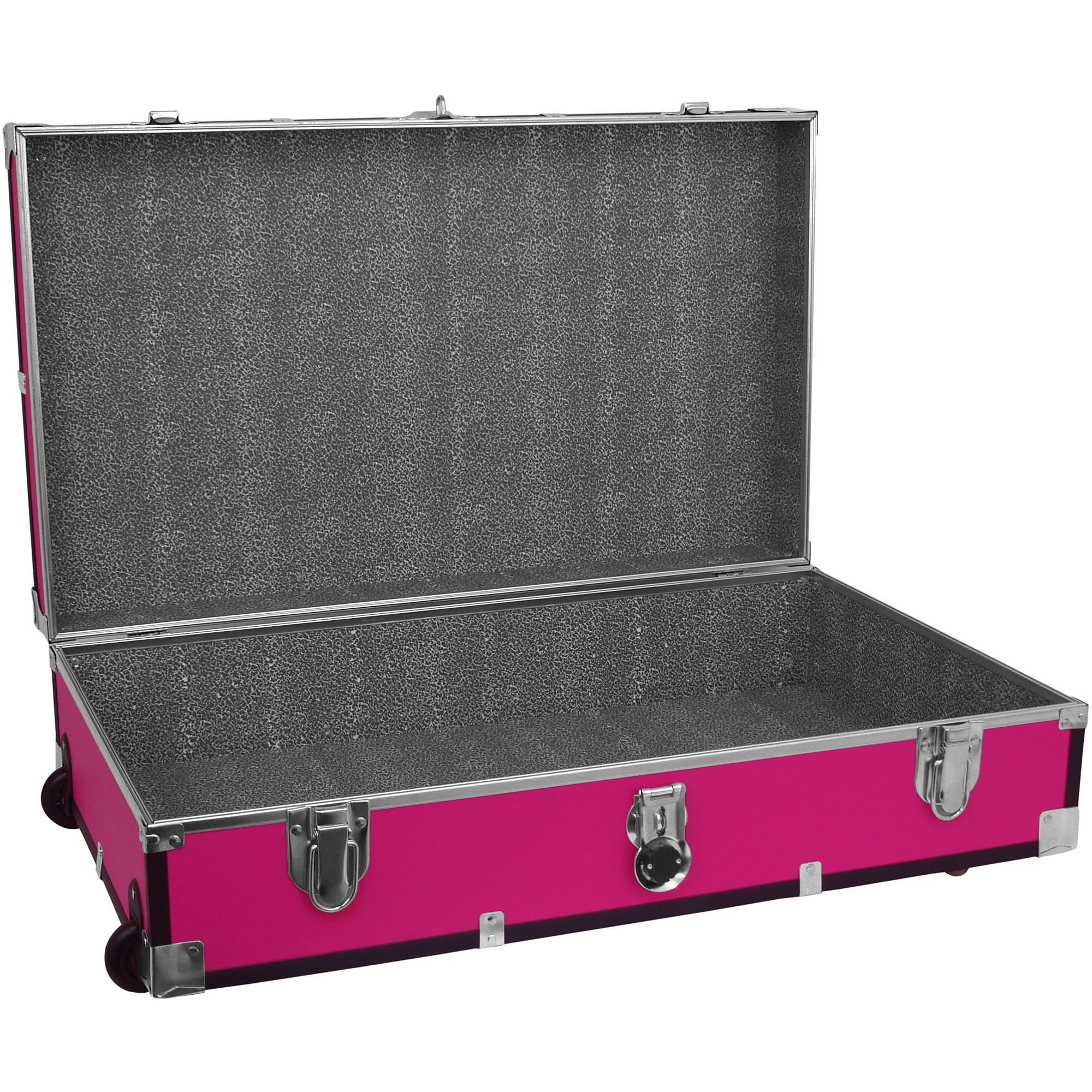Seward Trunk Under Bed 31 Inch Footlocker With Wheels