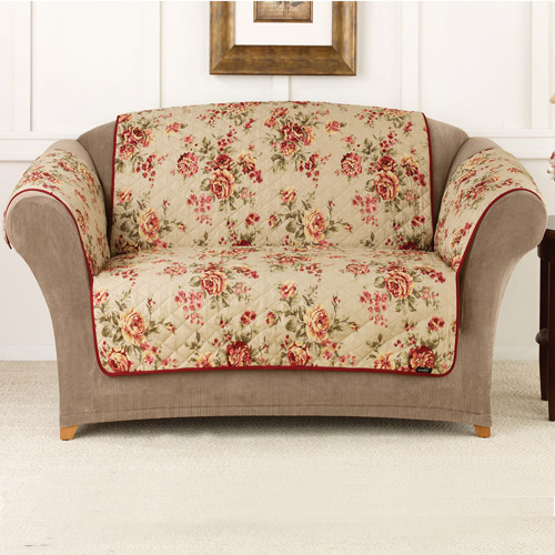 Sure Fit Lexington Floral Sofa Pet Throw