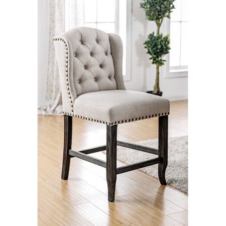 Charlton Home Stoneridge Transitional Dining Chair  Set Of 2